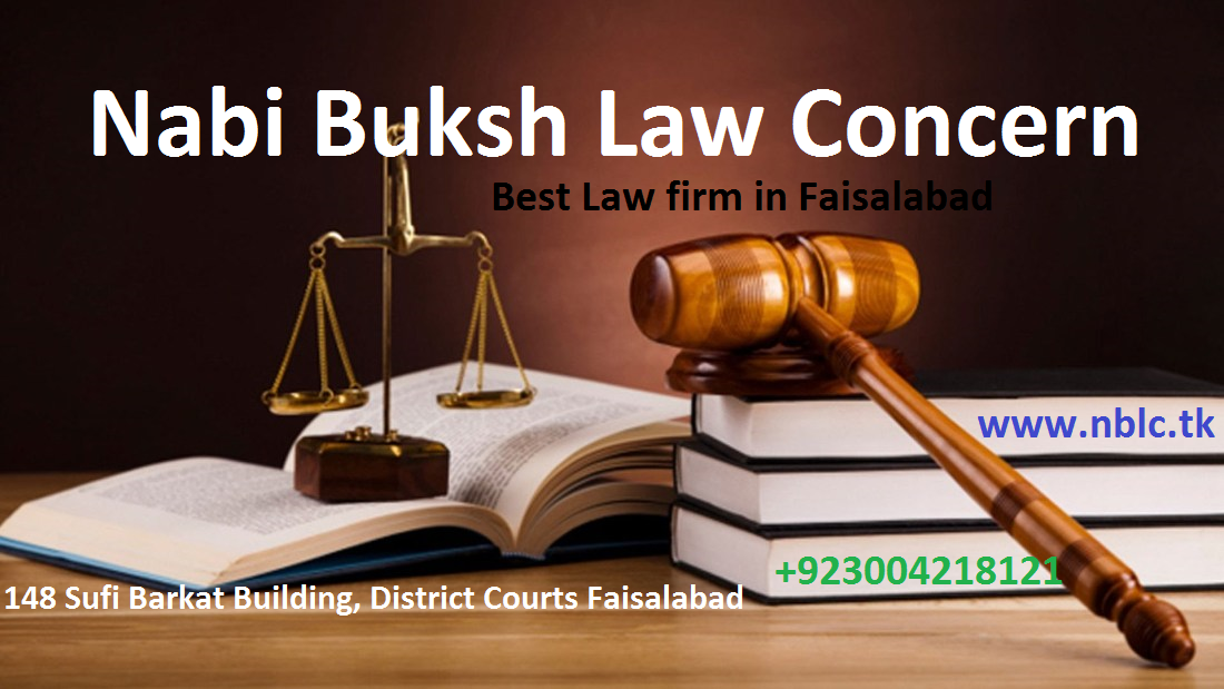 Best Law firm in Faisalabad